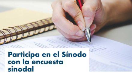 Encuesta sinodal: se amplía el plazo hasta el 20 de noviembre