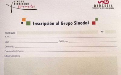 Una semana para inscribirse a los grupos sinodales